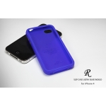 SGP iPhone 4 Case Ultra Silke R Series [Indigo Blue] (SGP06942)